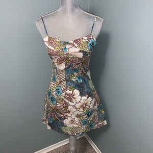 Charlotte Russe floral Sun Dress size medium